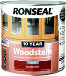Ronseal 10 Year Woodstain Mahogany 250ml