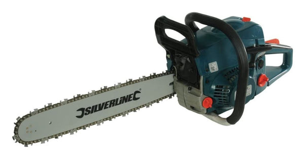 Silverline 264738 Chainsaw Petrol 480mm 52cc Outdoor