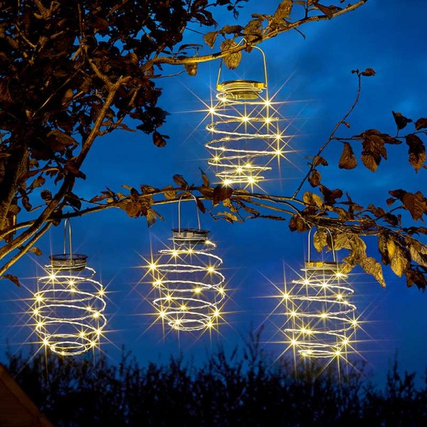 Smart Garden Products LED Spiral Light 4 pack