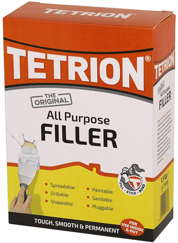 Tetrion All Purpose Powder Filler White 1.5 kg