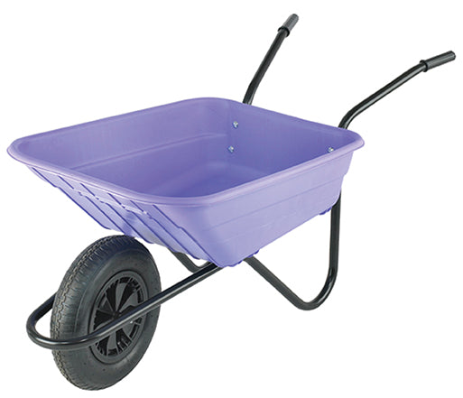 The Walsall Wheelbarrow Company The Shire Lilac 90 Litre NORFOLK DELIVERY ONLY