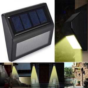 20#LED Solar light Bulb Outdoor Garden lamp Decoration PIR Motion Sensor Night Security Wall light Waterproof - AFH Home Decore