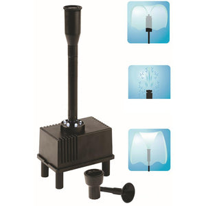 Adeeing Outdoor Fountain Water Pump LED Light Submersible Pump Aquarium Fish Tank Pond Automatical Waterfalls Fountains - AFH Home Decore