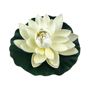 Pool Fish Tank Simulation Flower Decoration Simulation Water Lily Outdoor Garden Sculptures - AFH Home Decore