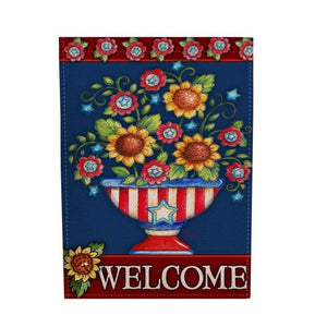 Double Sided Garden Flag Indoor Outdoor 1-9 Home Print Decor Colorful Welcome Banner As picture Party Decoration Home decoration - AFH Home Decore