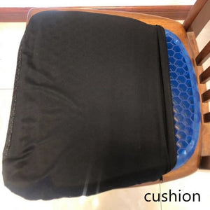 ice pad gel cushion non-slip soft and comfortable outdoor massage office chair cushion carpet - AFH Home Decore