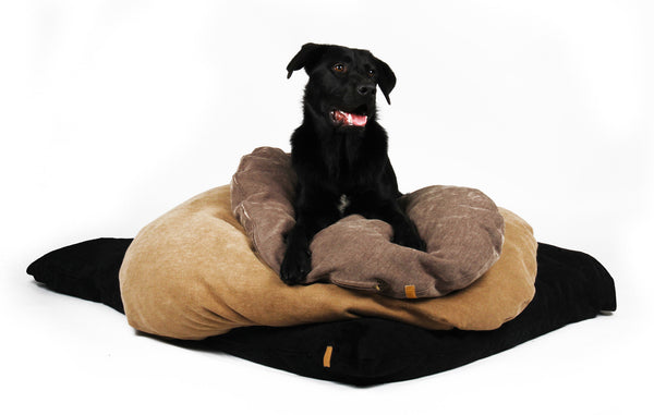 Dog Pillow black/ Hundekissen Schwarz