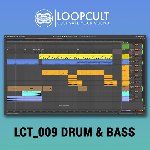 LCT 009 Drum & Bass Ableton Live 10 Template - Loop Cult