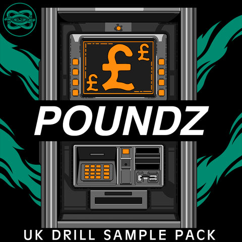 Poundz - UK Drill Sample Pack - Loop Cult
