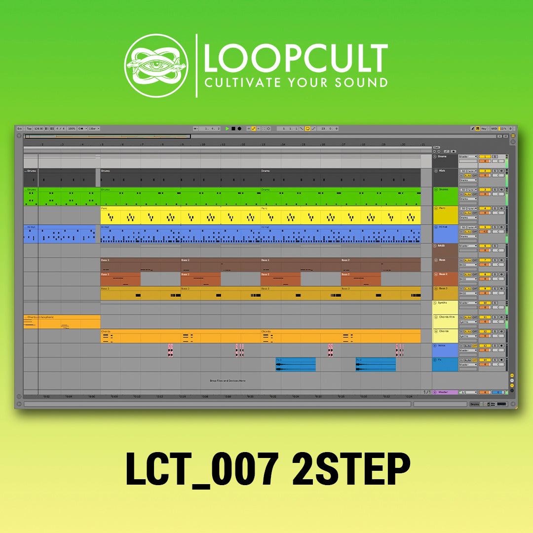 Loop Cult - 007 - 2Step Garage Template