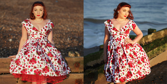 Dollydagger English Rose Scarlet Dress