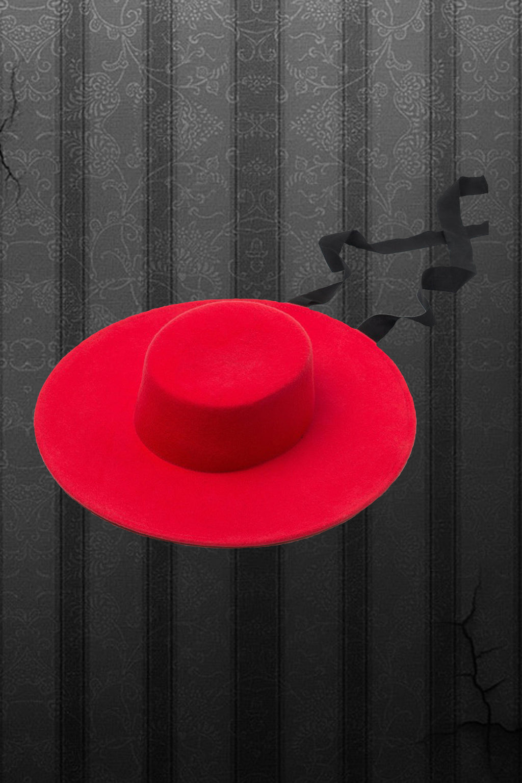 Pre Order - American Gothic Hat Red