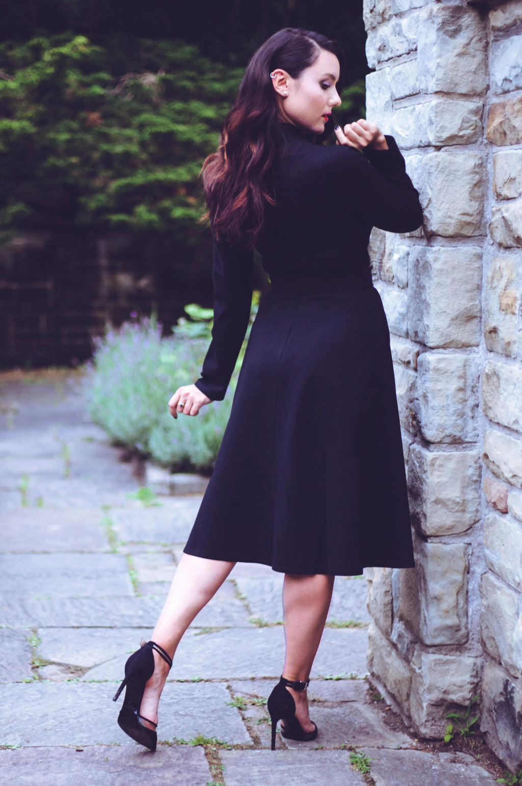 Claudia Dress - Black
