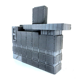 Concrete Elevation: New Street Signal Box