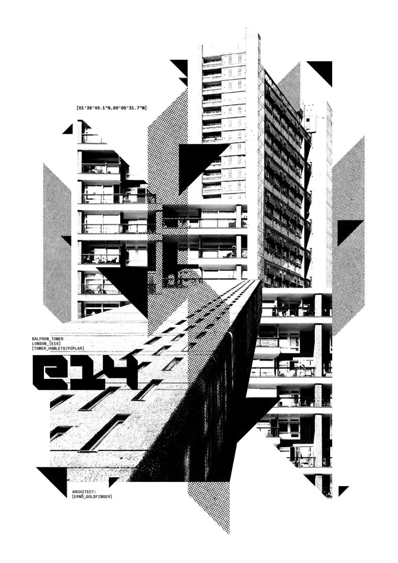 PRINT: Balfron Tower
