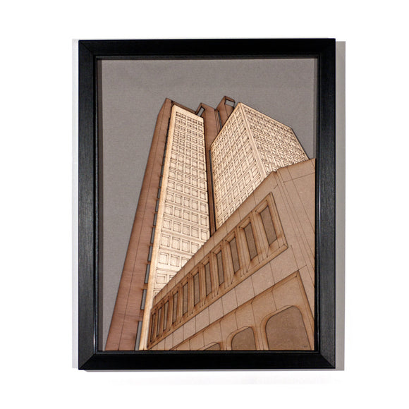 Lasercut: Natwest Tower
