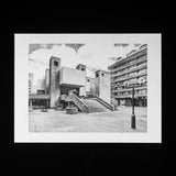 PRINT: The Barbican Centre - Entrance Stairs