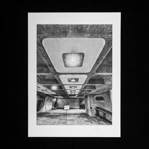 PRINT: The Barbican Centre - Interior Ceiling