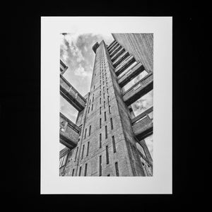 PRINT: Trellick Tower- Staircore Look Up