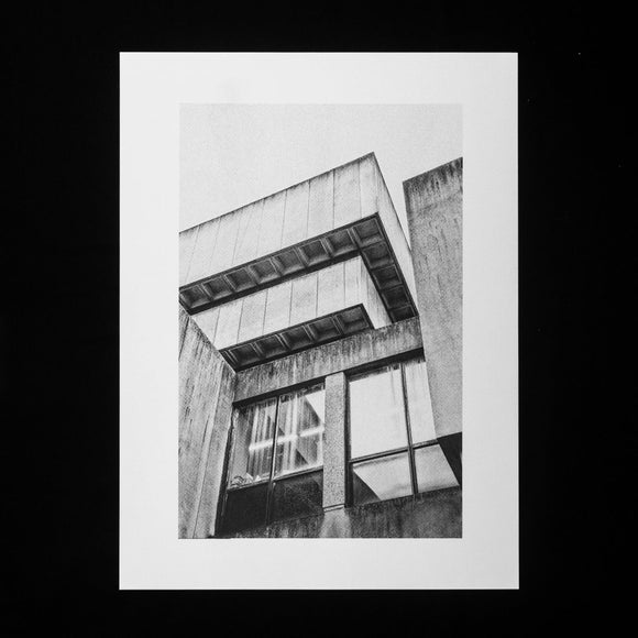 PRINT: Birmingham Central Library - Look Up