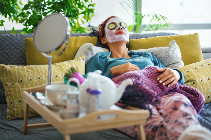 Inside An Esthetician's At-Home Spa Routine