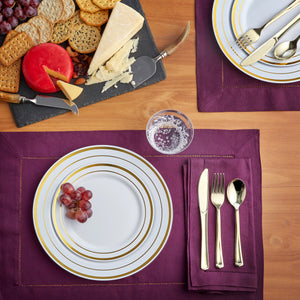 150 Gold Dinnerware sets