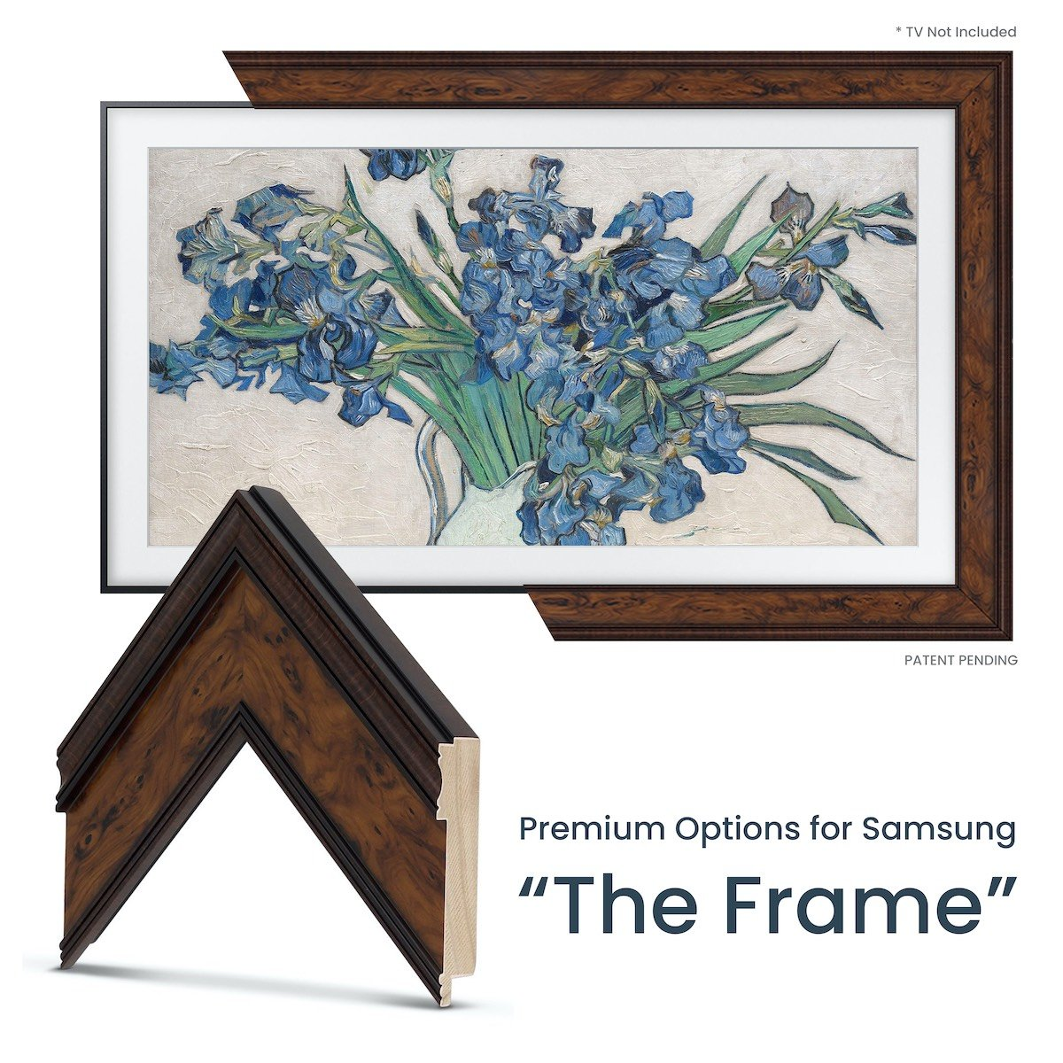 burlwood samsung the frame