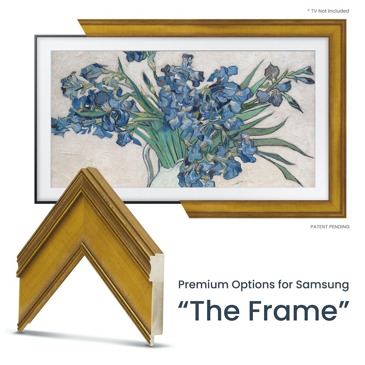 Gold Samsung The Frame