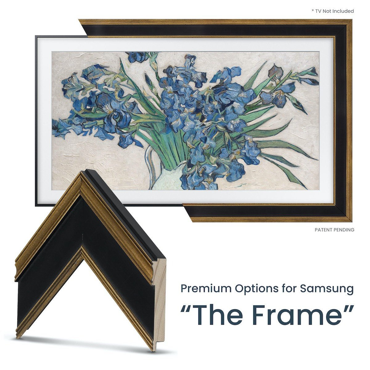 Black Gold Samsung the Frame