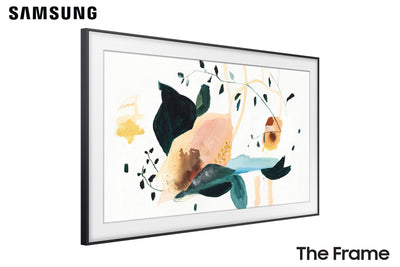 "Samsung The Frame TV Angled View - 43"" Art TV"