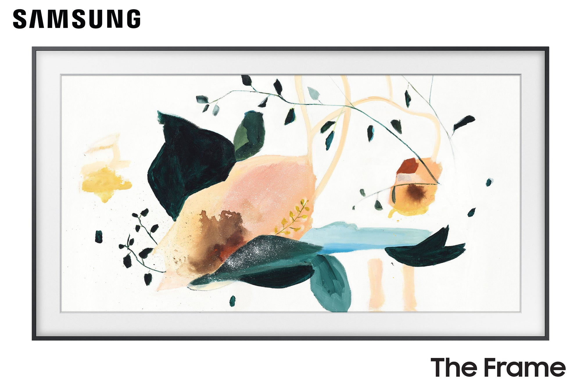 "Samsung The Frame TV - 75"" Art TV - TV Art"
