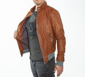 FRANKIE Natural Leather