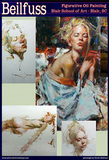 Kevin Beilfuss: Oils - Figurative  Painting, an intuitive approach</b><p>Dates to be Determined</p>