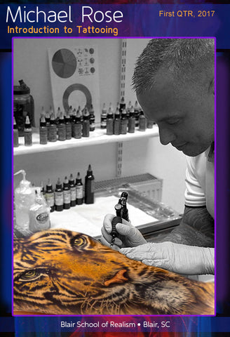 Mike Rose: Tattoo - Introduction to Tattoo</b><p> 2017</p>