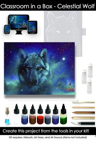 Classroom in a Box: Celestial Wolf kit