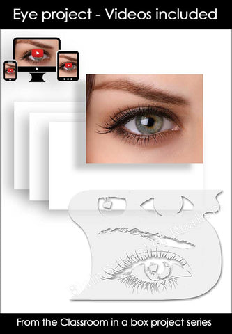 Classroom in a box: Eye project (no paint) - $39.95