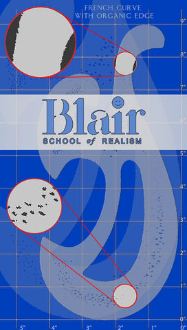 Blair Stencil - Organic Edge French curve