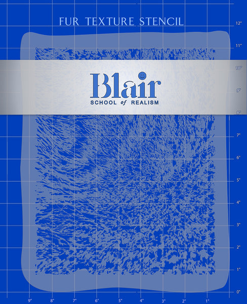 Blair Stencil - Fur
