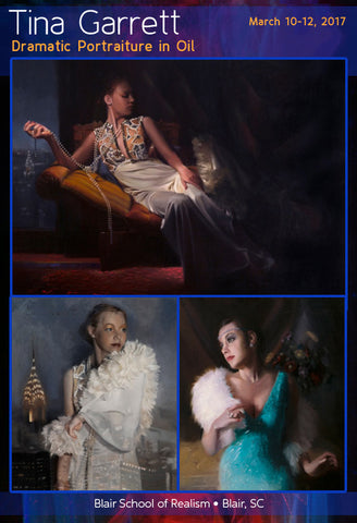Tina Garrett: Oils - Dramatic Portraiture</b>