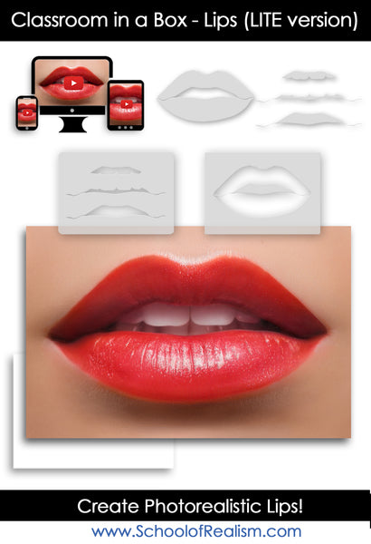 Classroom in a Box! Lips - Lite Version -  Now Shipping!