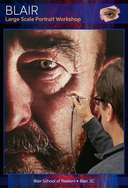 Dru Blair: Airbrush - Large Scale Portraits</b><p>October 27-30, 2016</p>