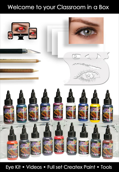 Classroom in a box: Eye kit - $129.95 (Extra paint colors!)