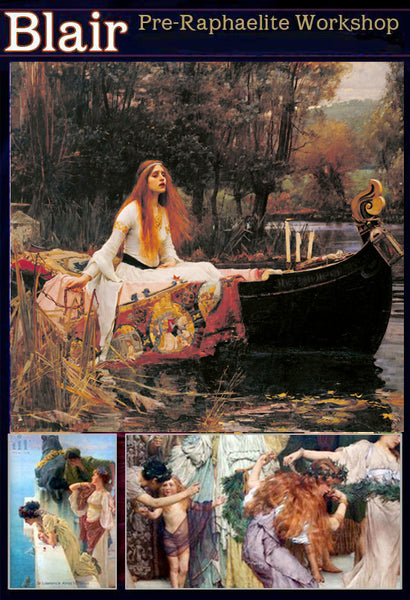 Dru Blair: Pre-Raphaelite Workshop</b> <p>March 6-10, 2019</p></b>