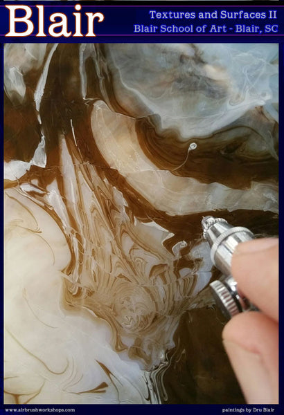 Dru Blair: Airbrush - Textures and Surfaces II</b><p>Held in September 2015</p>