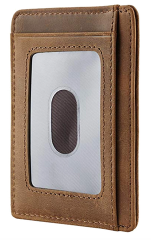 Image of Dad & Son - Engraved Card Holder