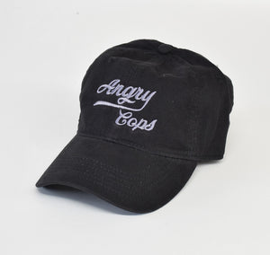 Angry Cops Logo Dad Hat
