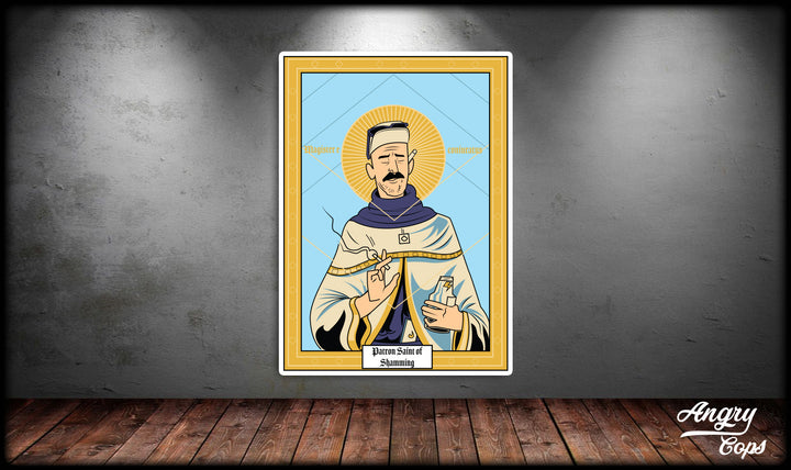 Patron Saint of Shamming Sticker