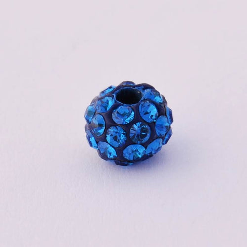 Beading Strong Blue Ball 6 mm