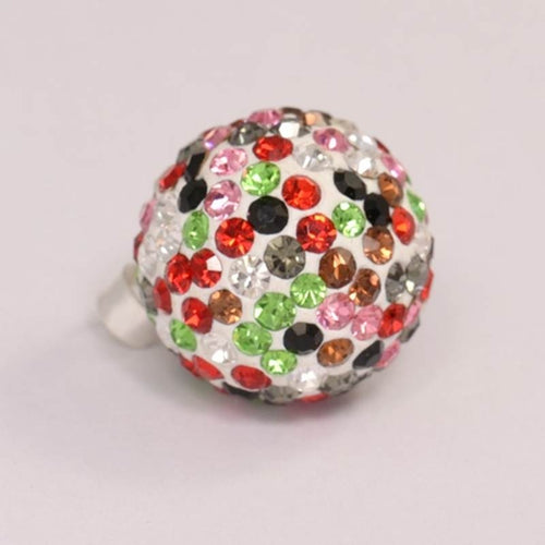 Silver Ball Pendant - Colors 16 mm
