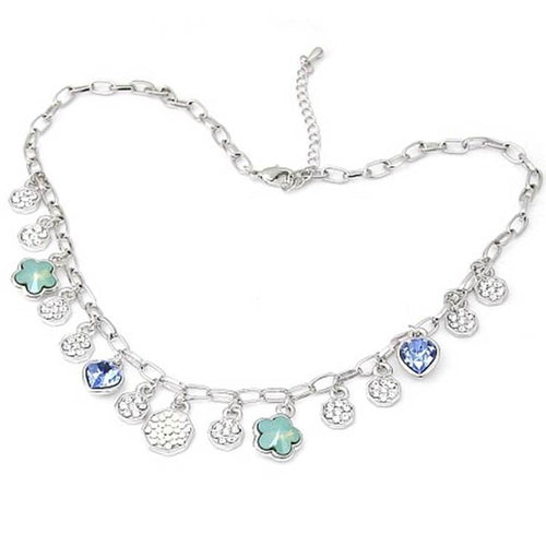 Blue Charms Necklace